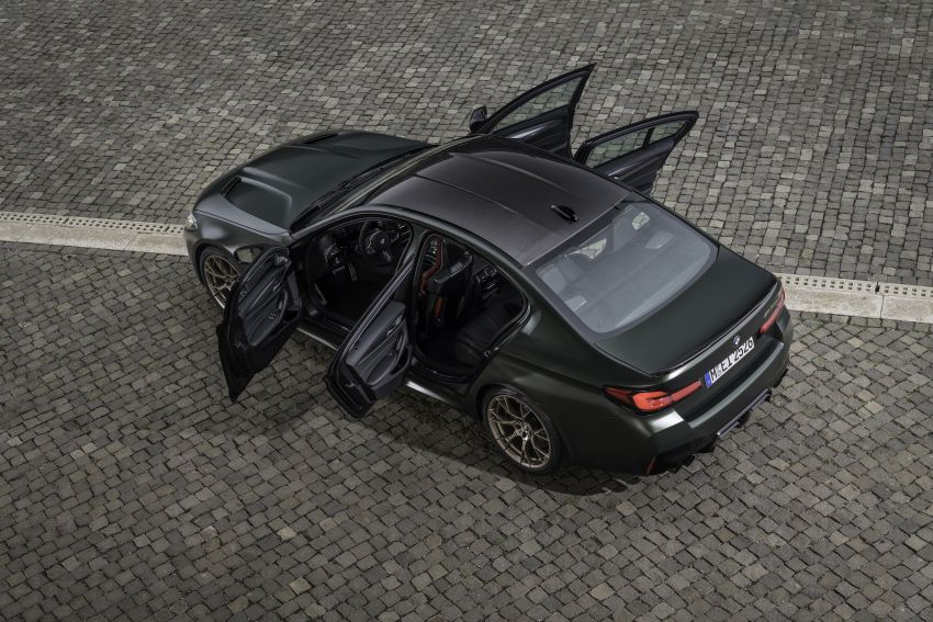 BMW M5 CS – 635 hp/750 Nm, 0-100 km/h in three seconds; more carbon, less weight, four bucket seats Image #1259159