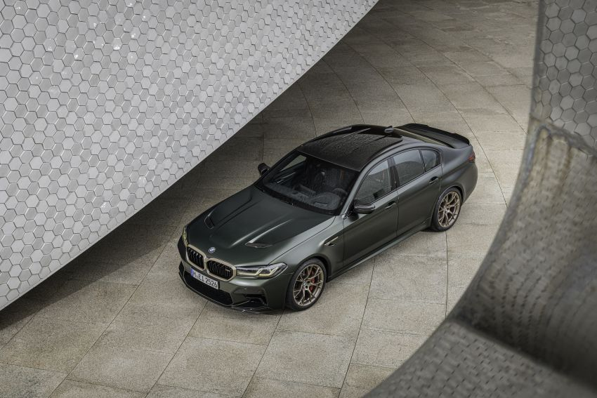 BMW M5 CS – 635 hp/750 Nm, 0-100 km/h in three seconds; more carbon, less weight, four bucket seats Image #1259160