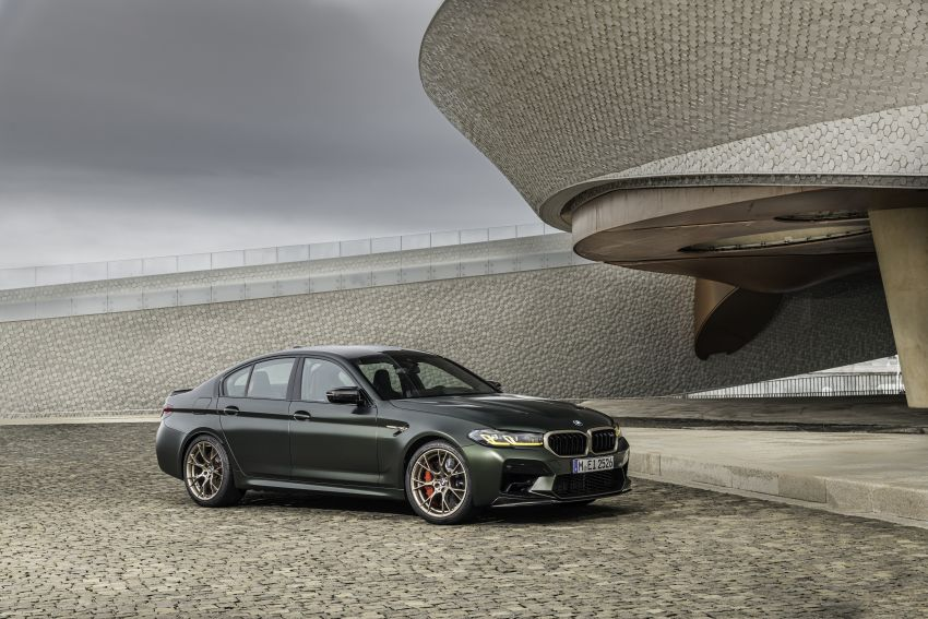 BMW M5 CS – 635 hp/750 Nm, 0-100 km/h in three seconds; more carbon, less weight, four bucket seats Image #1259163
