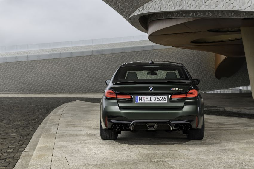 BMW M5 CS – 635 hp/750 Nm, 0-100 km/h in three seconds; more carbon, less weight, four bucket seats Image #1259165
