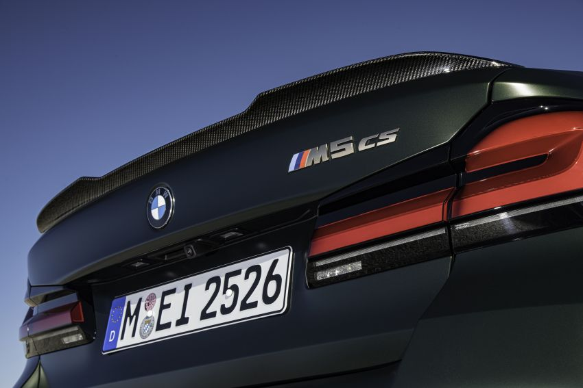 BMW M5 CS – 635 hp/750 Nm, 0-100 km/h in three seconds; more carbon, less weight, four bucket seats Image #1259177