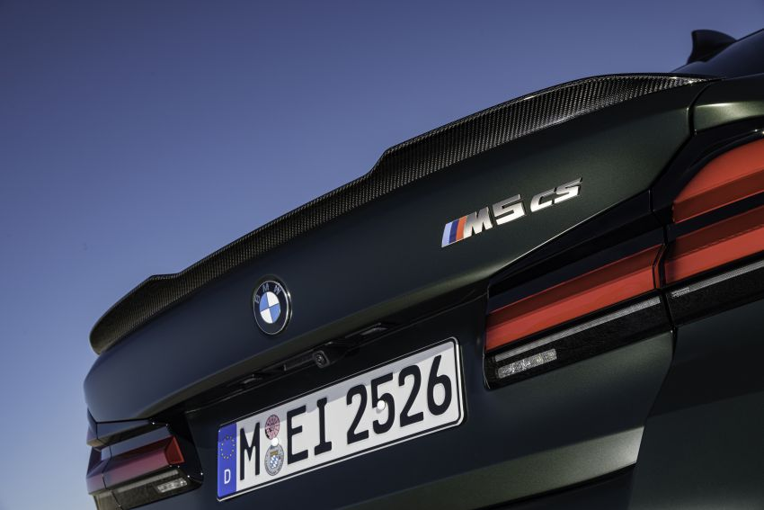 BMW M5 CS – 635 hp/750 Nm, 0-100 km/h in three seconds; more carbon, less weight, four bucket seats Image #1259178
