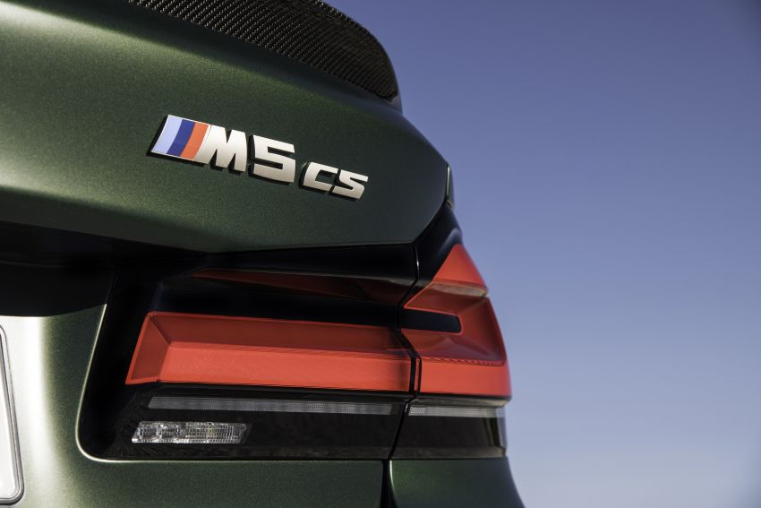 BMW M5 CS – 635 hp/750 Nm, 0-100 km/h in three seconds; more carbon, less weight, four bucket seats Image #1259179