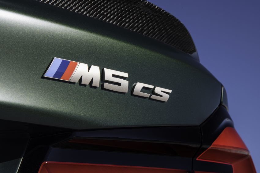 BMW M5 CS – 635 hp/750 Nm, 0-100 km/h in three seconds; more carbon, less weight, four bucket seats Image #1259181