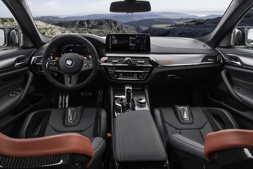 BMW M5 CS – 635 hp/750 Nm, 0-100 km/h in three seconds; more carbon, less weight, four bucket seats Image #1259182