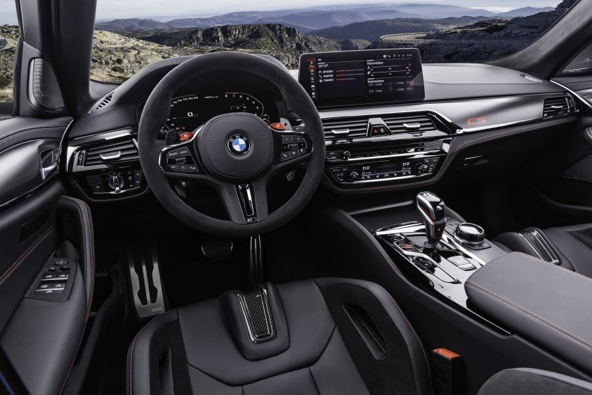 BMW M5 CS – 635 hp/750 Nm, 0-100 km/h in three seconds; more carbon, less weight, four bucket seats Image #1259185