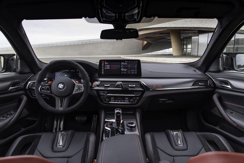BMW M5 CS – 635 hp/750 Nm, 0-100 km/h in three seconds; more carbon, less weight, four bucket seats Image #1259187