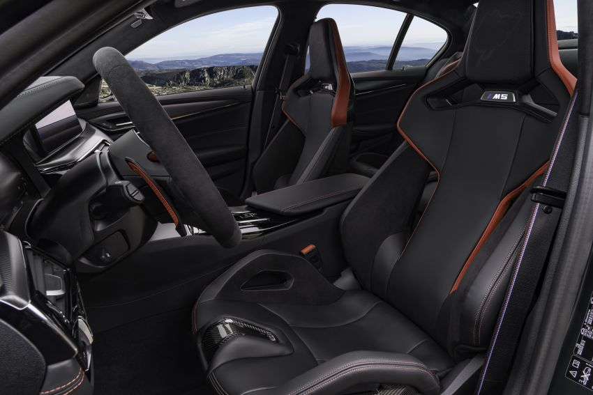 BMW M5 CS – 635 hp/750 Nm, 0-100 km/h in three seconds; more carbon, less weight, four bucket seats Image #1259189