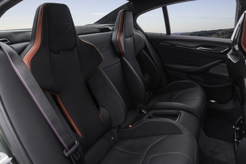 BMW M5 CS – 635 hp/750 Nm, 0-100 km/h in three seconds; more carbon, less weight, four bucket seats Image #1259190