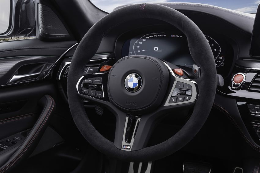 BMW M5 CS – 635 hp/750 Nm, 0-100 km/h in three seconds; more carbon, less weight, four bucket seats Image #1259192