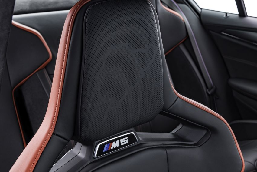 BMW M5 CS – 635 hp/750 Nm, 0-100 km/h in three seconds; more carbon, less weight, four bucket seats Image #1259193