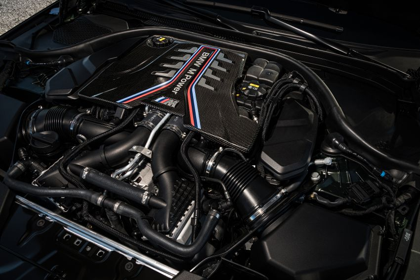 BMW M5 CS – 635 hp/750 Nm, 0-100 km/h in three seconds; more carbon, less weight, four bucket seats Image #1259199