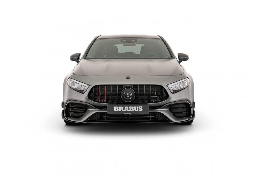 Brabus B45 dari Mercedes-AMG A 45 S – 450 hp dan tork maksima 550 Nm, 0-100 km/j hanya 3.7 saat! Image #1240403