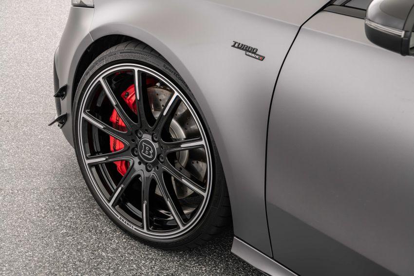 Brabus B45 dari Mercedes-AMG A 45 S – 450 hp dan tork maksima 550 Nm, 0-100 km/j hanya 3.7 saat! Image #1240408