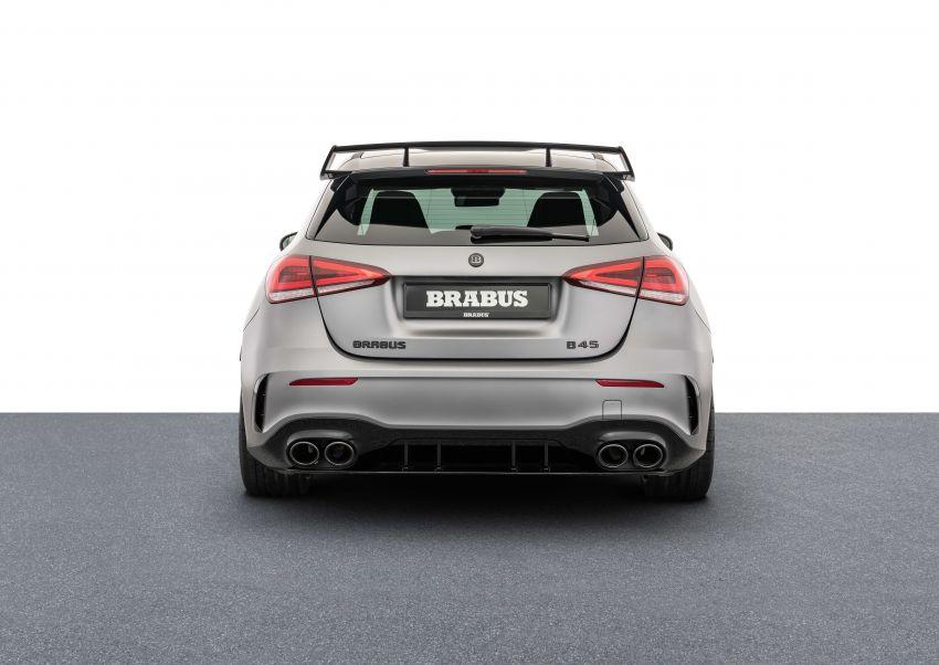 Brabus B45 dari Mercedes-AMG A 45 S – 450 hp dan tork maksima 550 Nm, 0-100 km/j hanya 3.7 saat! Image #1240409