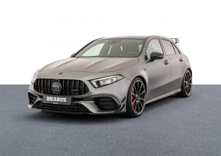 Brabus B45 dari Mercedes-AMG A 45 S – 450 hp dan tork maksima 550 Nm, 0-100 km/j hanya 3.7 saat! Image #1240410