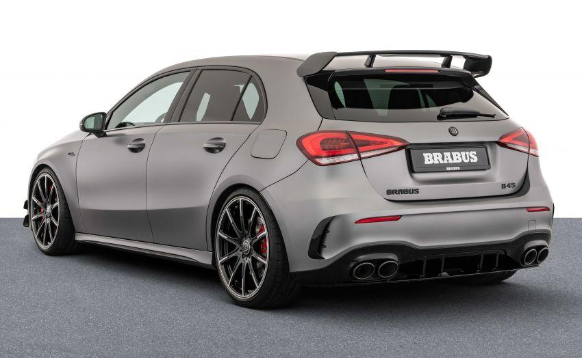 Brabus B45 dari Mercedes-AMG A 45 S – 450 hp dan tork maksima 550 Nm, 0-100 km/j hanya 3.7 saat! Image #1240379