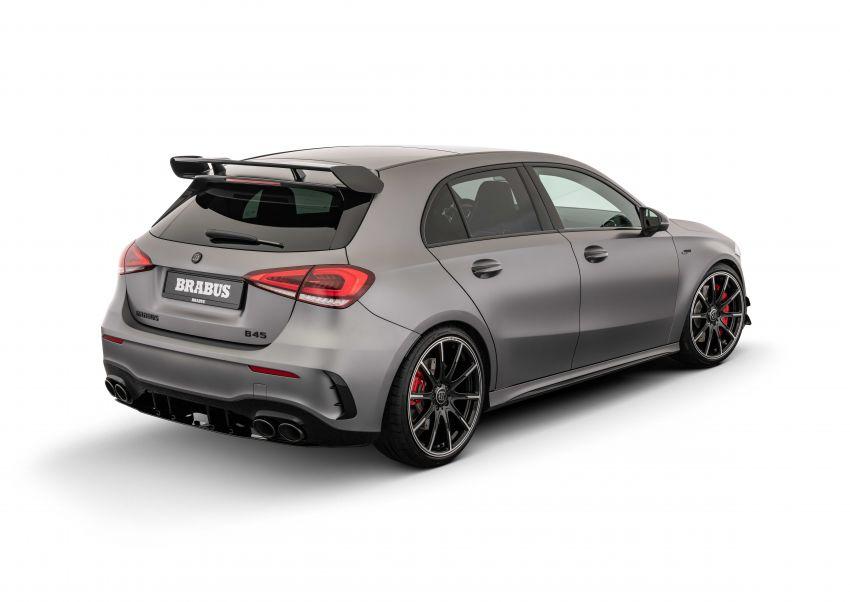 Brabus B45 dari Mercedes-AMG A 45 S – 450 hp dan tork maksima 550 Nm, 0-100 km/j hanya 3.7 saat! Image #1240417