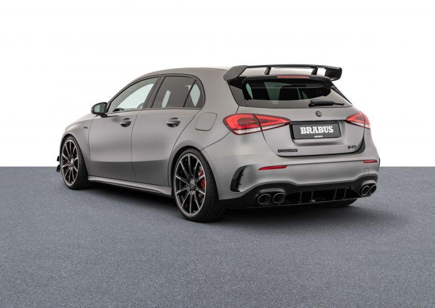 Brabus B45 dari Mercedes-AMG A 45 S – 450 hp dan tork maksima 550 Nm, 0-100 km/j hanya 3.7 saat! Image #1240422