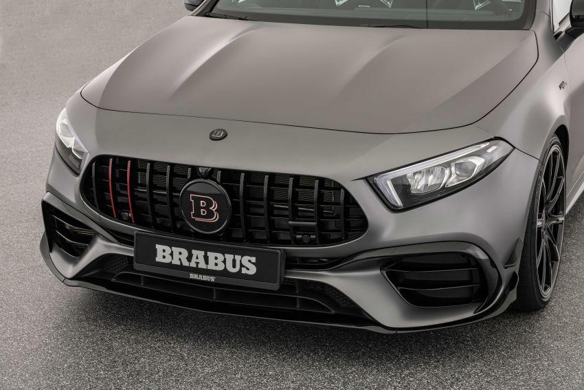 Brabus B45 dari Mercedes-AMG A 45 S – 450 hp dan tork maksima 550 Nm, 0-100 km/j hanya 3.7 saat! Image #1240390