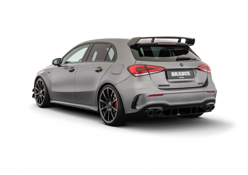 Brabus B45 dari Mercedes-AMG A 45 S – 450 hp dan tork maksima 550 Nm, 0-100 km/j hanya 3.7 saat! Image #1240393