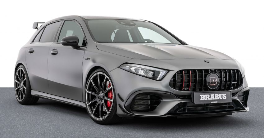 Brabus B45 debuts – tuned Mercedes-AMG A45S with 450 PS and 550 Nm; 0-100 km/h in just 3.7 seconds Image #1240967
