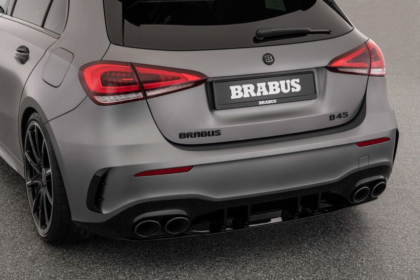 Brabus B45 debuts – tuned Mercedes-AMG A45S with 450 PS and 550 Nm; 0-100 km/h in just 3.7 seconds Image #1240981
