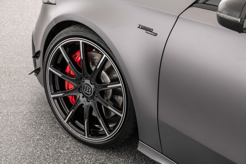 Brabus B45 debuts – tuned Mercedes-AMG A45S with 450 PS and 550 Nm; 0-100 km/h in just 3.7 seconds Image #1240983