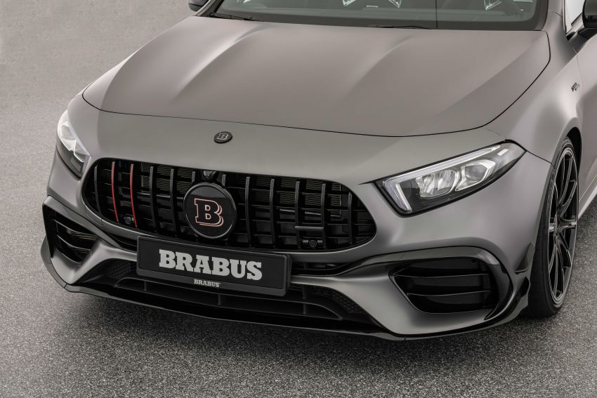 Brabus B45 debuts – tuned Mercedes-AMG A45S with 450 PS and 550 Nm; 0-100 km/h in just 3.7 seconds Image #1240985