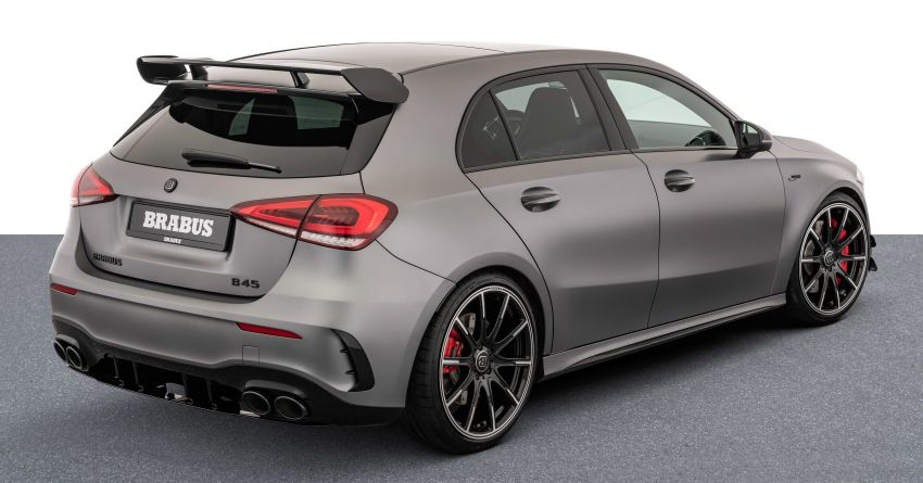 Brabus B45 debuts – tuned Mercedes-AMG A45S with 450 PS and 550 Nm; 0-100 km/h in just 3.7 seconds Image #1240968