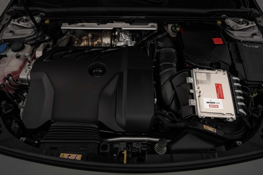 Brabus B45 debuts – tuned Mercedes-AMG A45S with 450 PS and 550 Nm; 0-100 km/h in just 3.7 seconds Image #1240987
