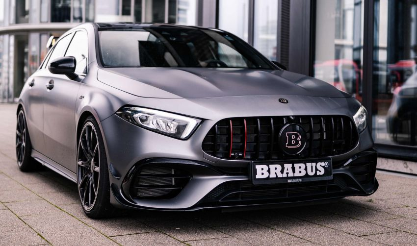 Brabus B45 debuts – tuned Mercedes-AMG A45S with 450 PS and 550 Nm; 0-100 km/h in just 3.7 seconds Image #1240994