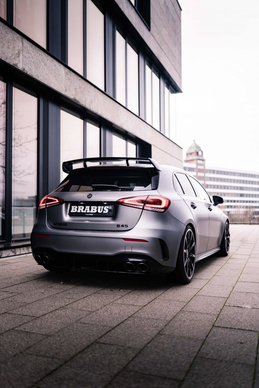 Brabus B45 debuts – tuned Mercedes-AMG A45S with 450 PS and 550 Nm; 0-100 km/h in just 3.7 seconds Image #1240995