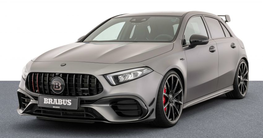 Brabus B45 debuts – tuned Mercedes-AMG A45S with 450 PS and 550 Nm; 0-100 km/h in just 3.7 seconds Image #1240969