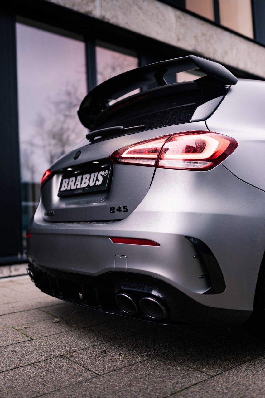 Brabus B45 debuts – tuned Mercedes-AMG A45S with 450 PS and 550 Nm; 0-100 km/h in just 3.7 seconds Image #1240996