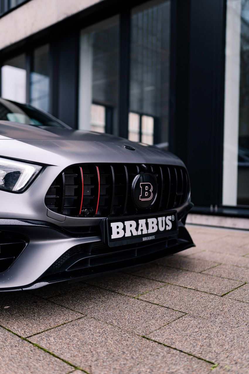 Brabus B45 debuts – tuned Mercedes-AMG A45S with 450 PS and 550 Nm; 0-100 km/h in just 3.7 seconds Image #1240998