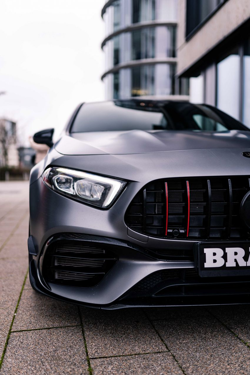 Brabus B45 debuts – tuned Mercedes-AMG A45S with 450 PS and 550 Nm; 0-100 km/h in just 3.7 seconds Image #1240999