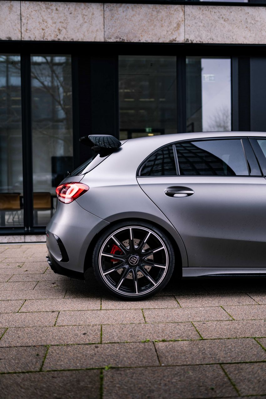 Brabus B45 debuts – tuned Mercedes-AMG A45S with 450 PS and 550 Nm; 0-100 km/h in just 3.7 seconds Image #1241001
