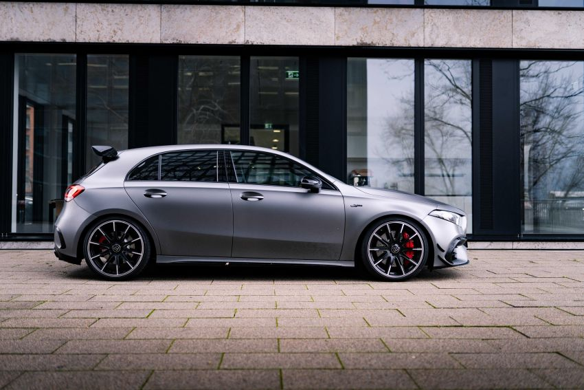 Brabus B45 debuts – tuned Mercedes-AMG A45S with 450 PS and 550 Nm; 0-100 km/h in just 3.7 seconds Image #1241002