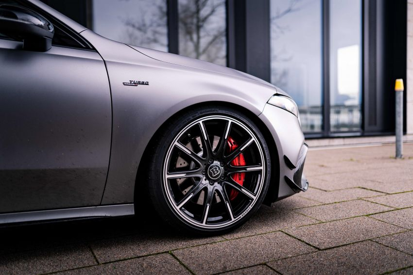Brabus B45 debuts – tuned Mercedes-AMG A45S with 450 PS and 550 Nm; 0-100 km/h in just 3.7 seconds Image #1241003