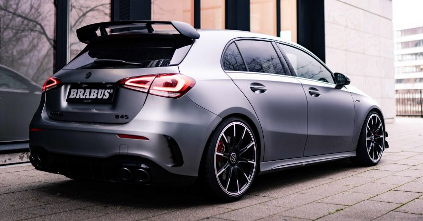 Brabus B45 debuts – tuned Mercedes-AMG A45S with 450 PS and 550 Nm; 0-100 km/h in just 3.7 seconds Image #1241004