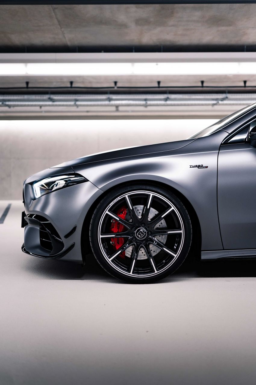 Brabus B45 debuts – tuned Mercedes-AMG A45S with 450 PS and 550 Nm; 0-100 km/h in just 3.7 seconds Image #1241005