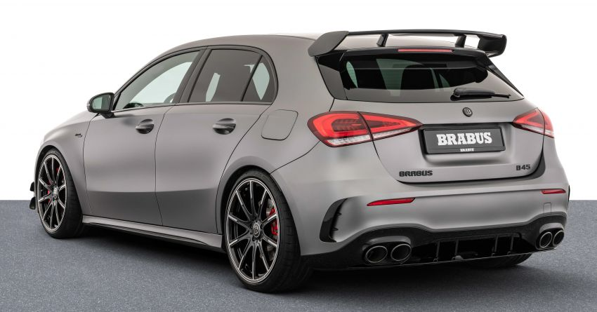 Brabus B45 debuts – tuned Mercedes-AMG A45S with 450 PS and 550 Nm; 0-100 km/h in just 3.7 seconds Image #1240970