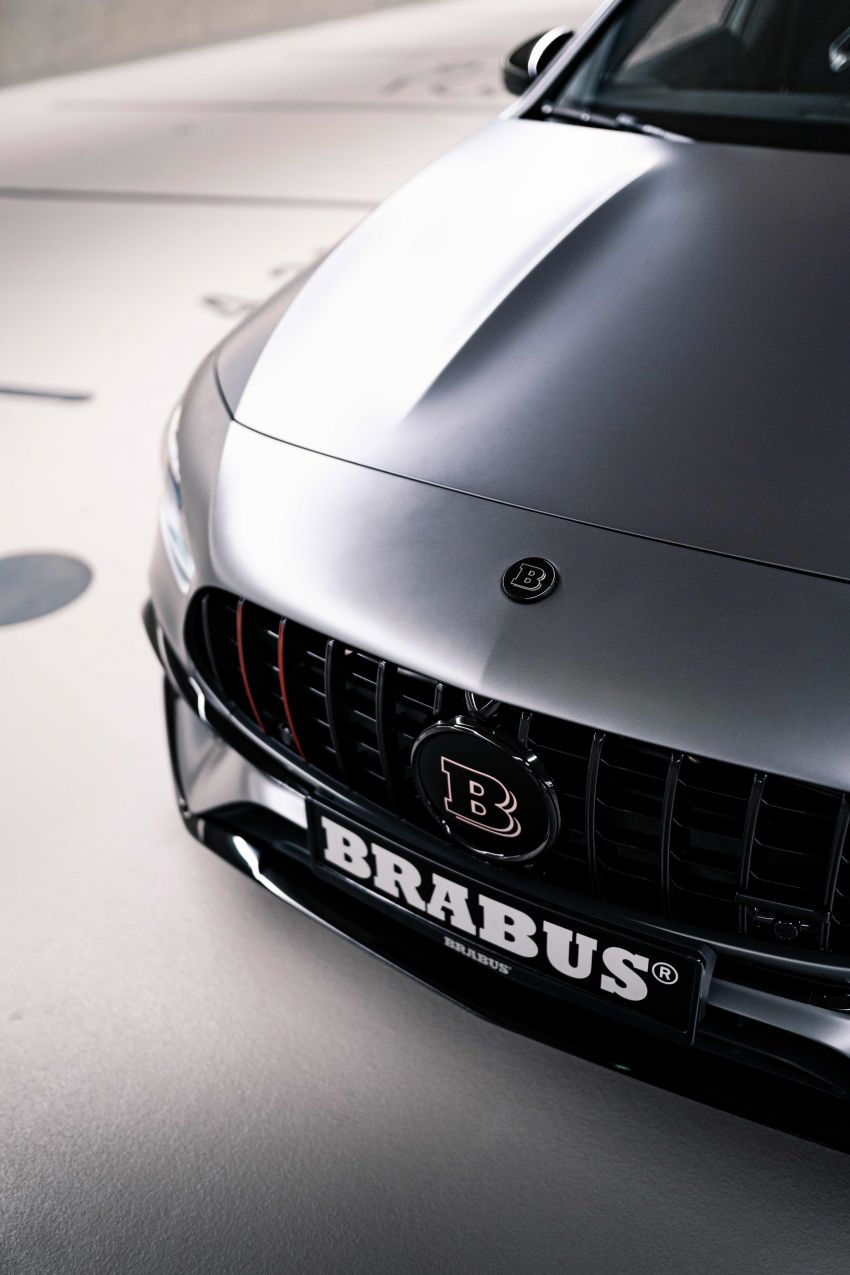 Brabus B45 debuts – tuned Mercedes-AMG A45S with 450 PS and 550 Nm; 0-100 km/h in just 3.7 seconds Image #1241006