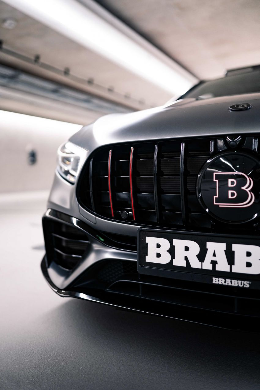 Brabus B45 debuts – tuned Mercedes-AMG A45S with 450 PS and 550 Nm; 0-100 km/h in just 3.7 seconds Image #1241007