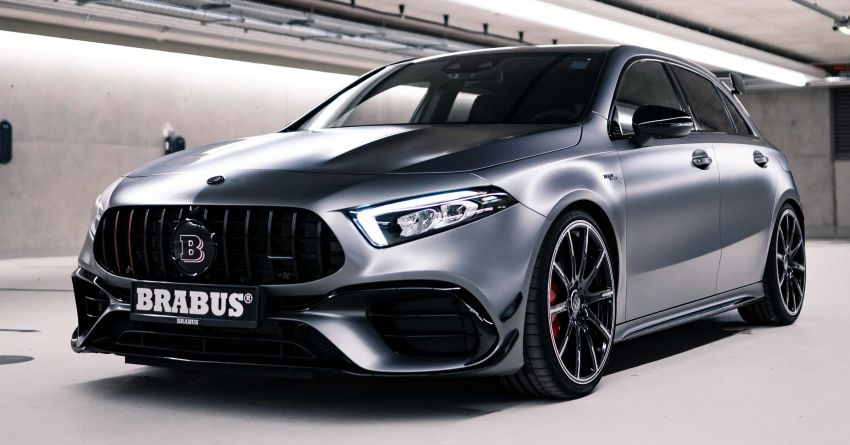 Brabus B45 debuts – tuned Mercedes-AMG A45S with 450 PS and 550 Nm; 0-100 km/h in just 3.7 seconds Image #1241008