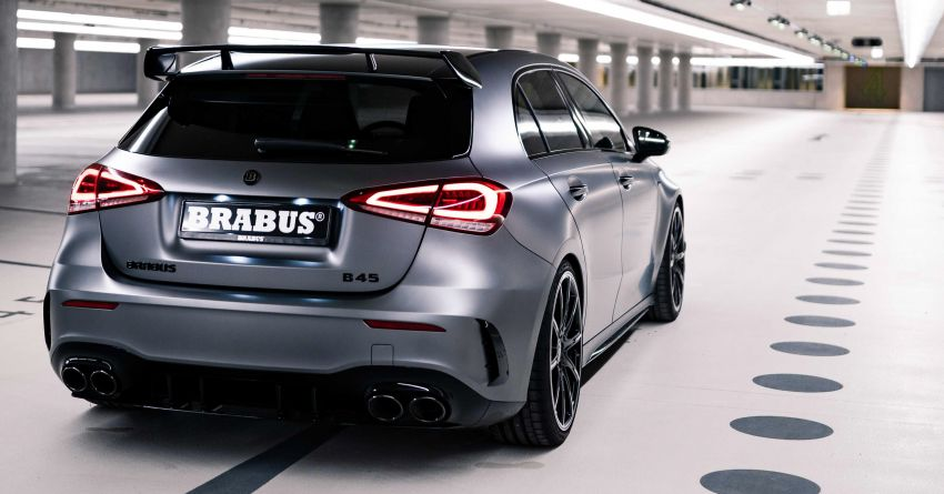 Brabus B45 debuts – tuned Mercedes-AMG A45S with 450 PS and 550 Nm; 0-100 km/h in just 3.7 seconds Image #1241009