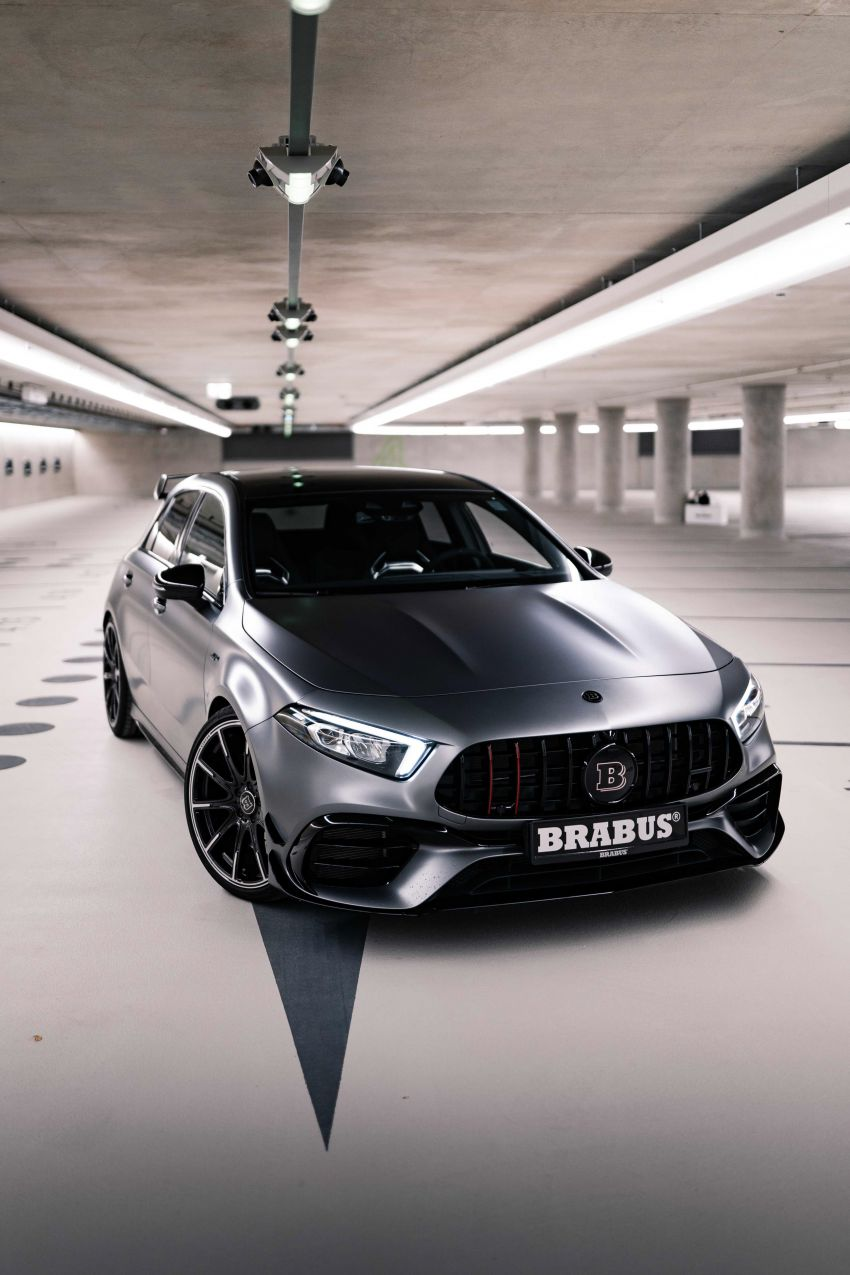 Brabus B45 debuts – tuned Mercedes-AMG A45S with 450 PS and 550 Nm; 0-100 km/h in just 3.7 seconds Image #1241010