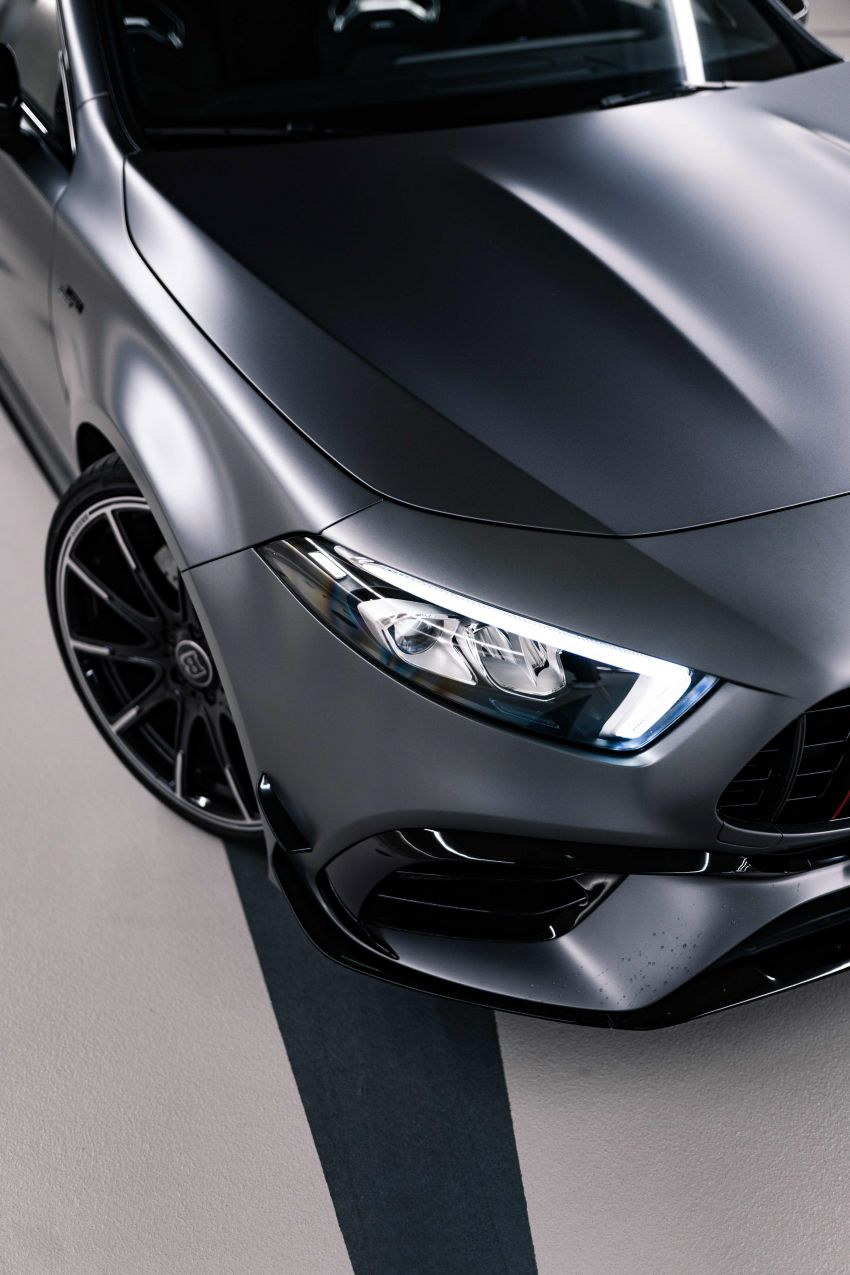 Brabus B45 debuts – tuned Mercedes-AMG A45S with 450 PS and 550 Nm; 0-100 km/h in just 3.7 seconds Image #1241011