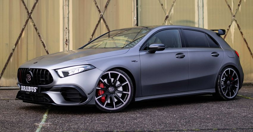 Brabus B45 debuts – tuned Mercedes-AMG A45S with 450 PS and 550 Nm; 0-100 km/h in just 3.7 seconds Image #1241012